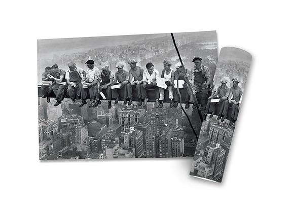 Poster Homens Trabalhando na viga