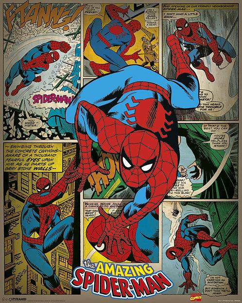Pôster M - Homem Aranha | Retrô