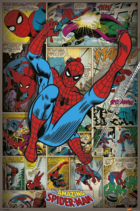 Pôster G - Homem Aranha | HQ