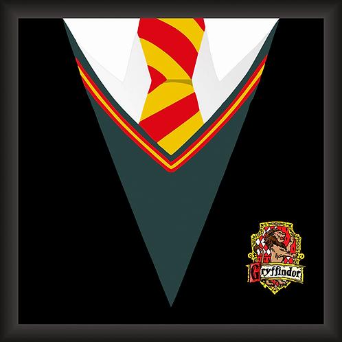 Quadro Decorativo - Harry Potter (Uniforme)