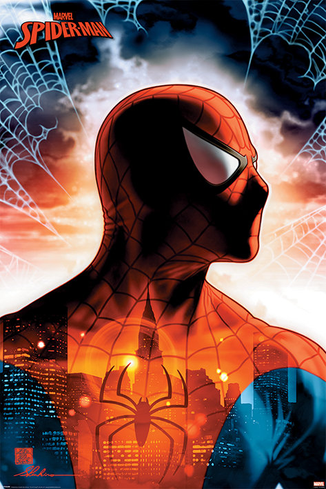 POSTER M PY PP 34505 SPIDER MAN PROTECTOR