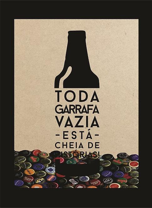 Quadro Cerveja - Garrafa