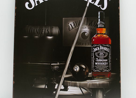 Placa Decor - Jack Daniels | Sinuca