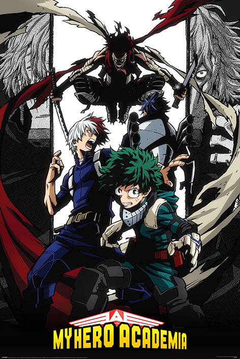Poster G - My hero academy