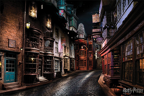 Pôster G - Harry Potter | Beco Diagonal