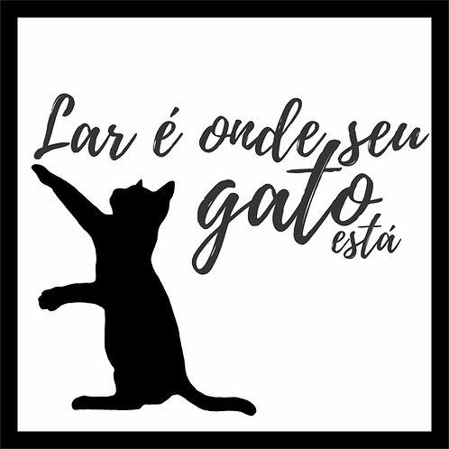 Quadro D - Lar Gato