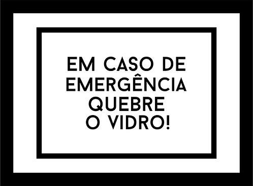 Quadro Cofre - Emergência
