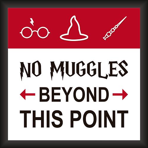Quadro D - No Muggles
