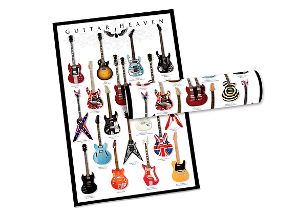 Pôster G - Guitarras