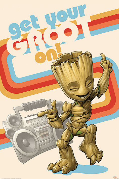 POSTER M PY PP 34562 GET YOUR GROOT