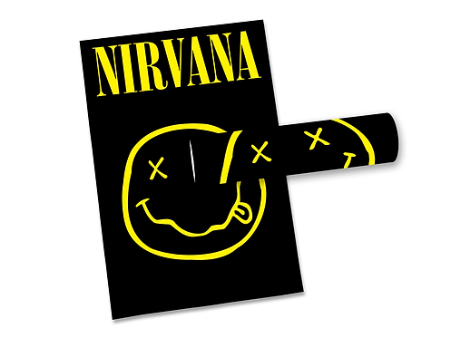 Poster Nirvana Smile