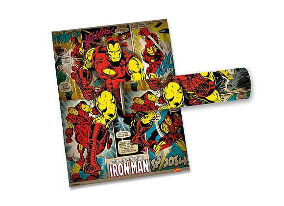 Pôster M - Homem de Ferro | Retrô