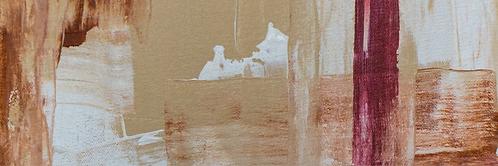 Tela Abstrata 50x150