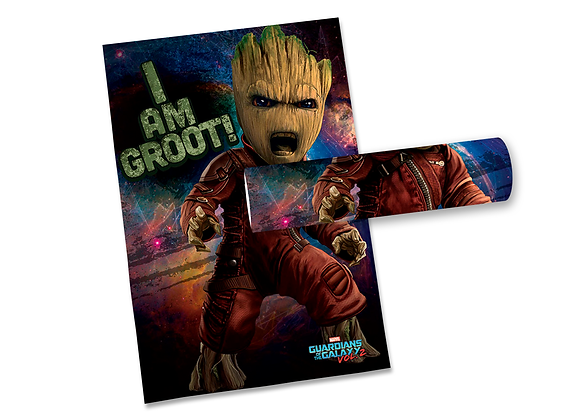 Pôster G - Guardiões Galáxia | Groot