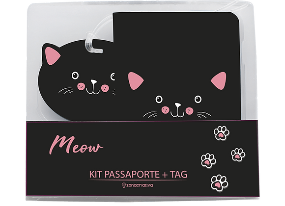 KIT VIAG ZC 10130024 TAG E PASS MEOW