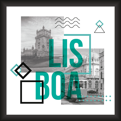 Quadro Decorativo - Visual Lisboa