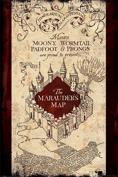 POSTER M PY PP 33921 HARRY POTTER (THE MARAUDERS)