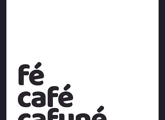 Quadro Decor - Fé, Café PB