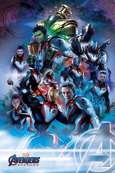 Pôster G - Os Vingadores | End Game