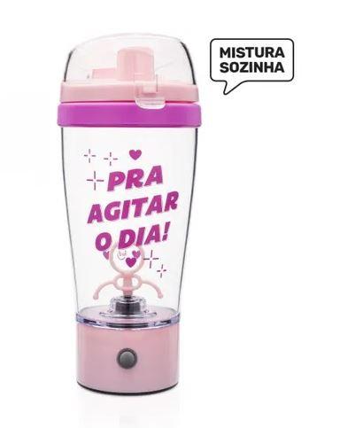 Coqueteleira Mixer 450ml - Pra Agitar o Dia