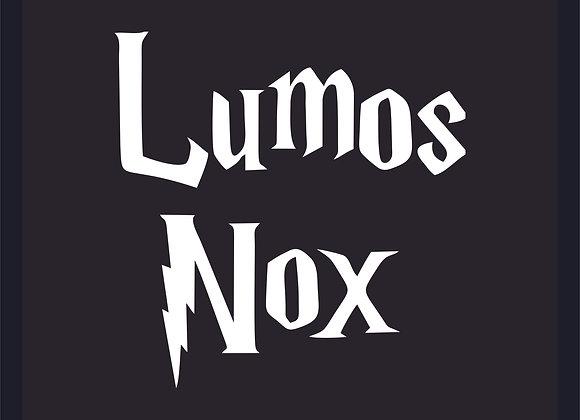 Quadro Harry Potter Lumos Nox