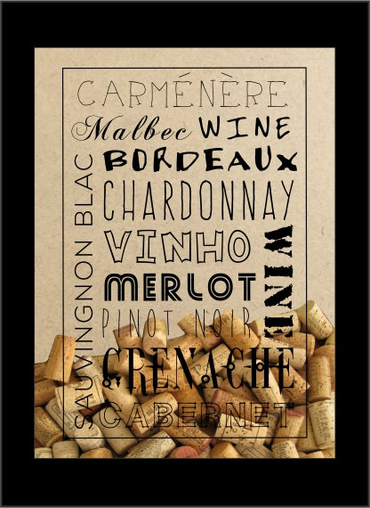 Quadro Vinho - Tipos