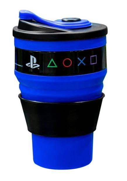 Copo Retrátil 400ml - PlayStation