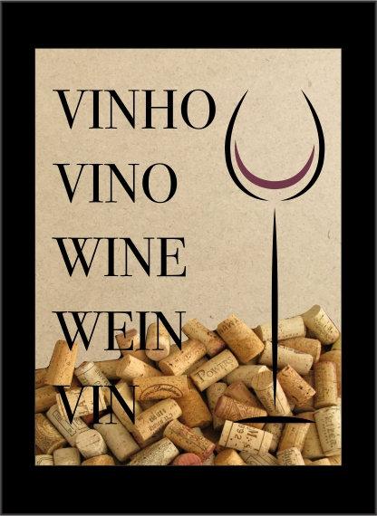 Quadro Vinho - Idiomas