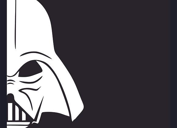 Quadro Star Wars Darth