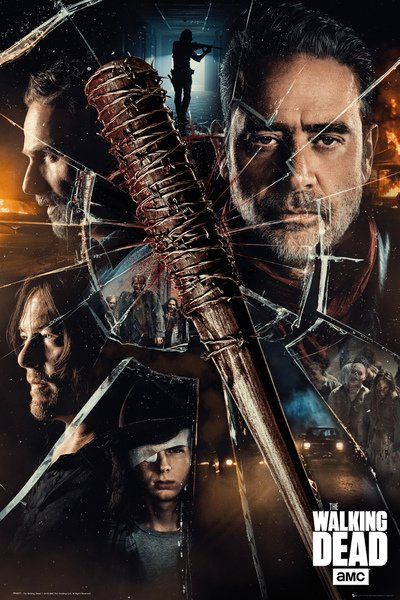 POSTER GB FP 4621 THE WALKING DEAD SMASH