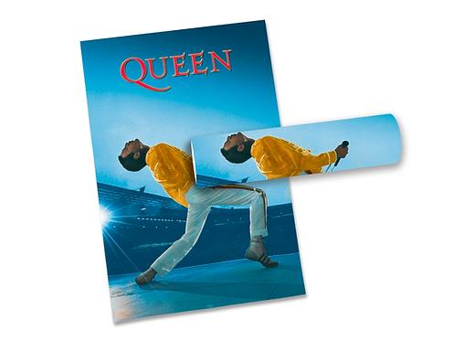 Poster Queen Wembley