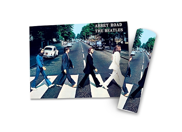 Pôster M - Beatles | Abbey Road