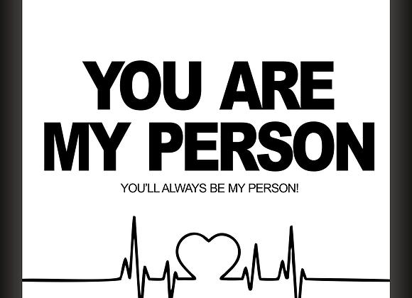 Quadro Decor - Grey's Anatomy | You Are