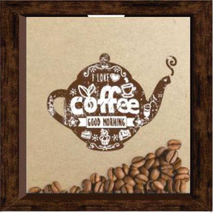Quadro Café - Bule