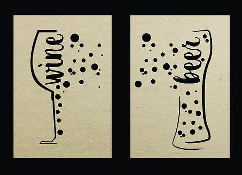 QUADRO DUPLO WINE + BEER