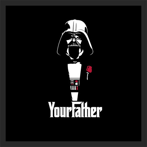 QUADRO YOUR FATHER 28X28