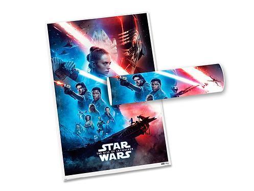 Poster Star Wars - A Ascensão Skywalker