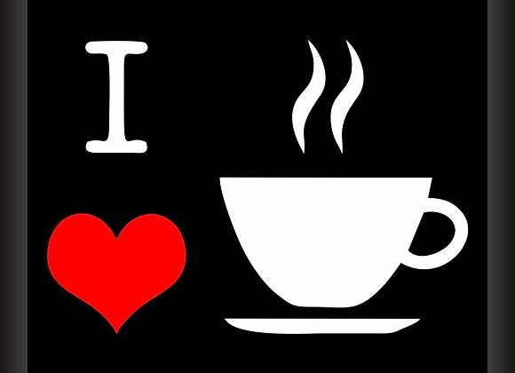 Quadro I Love Coffee