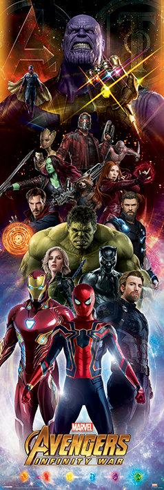 Pôster O - Os Vingadores | Guerra Infinita