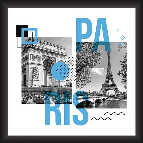 Quadro Decorativo - Visual Paris
