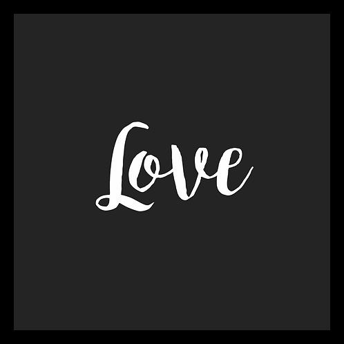 Quadro D - Love PB