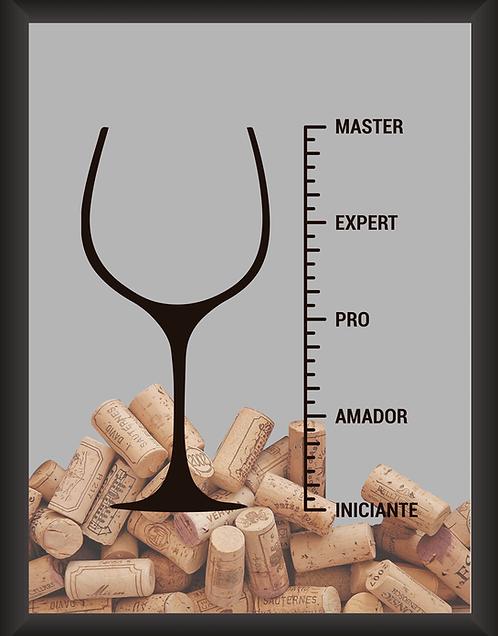 Quadro Vinho - Master