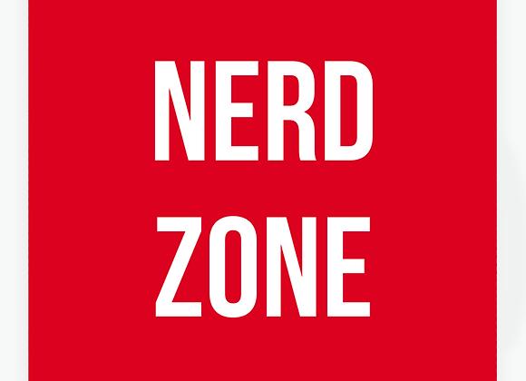Quadro Decor - Nerd Zone