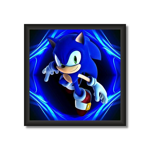 Quadro Decorativo SN118 - Sonic
