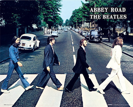 POSTER M GB MP 0599 BEATLES ABBEY ROAD