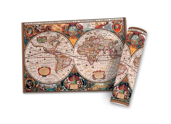 Poster Mapa Mundi Magna Carta