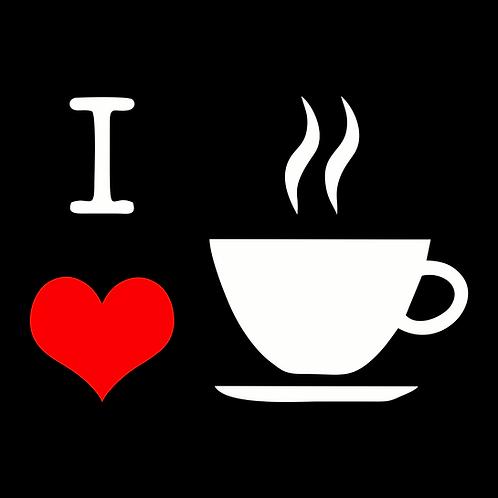 QUADRO LOVE CAFE 28X28