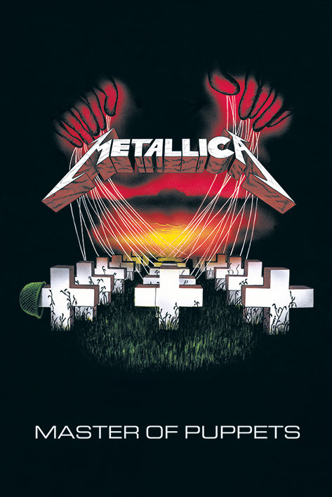 POSTER M PY PP 33255 METALLICA MASTER OF PUPPETS