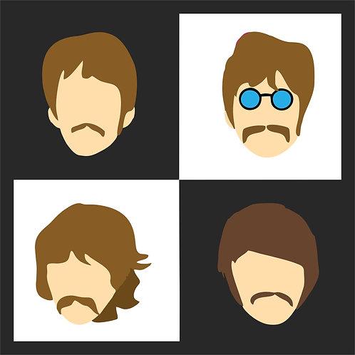 Quadro D - Beatles