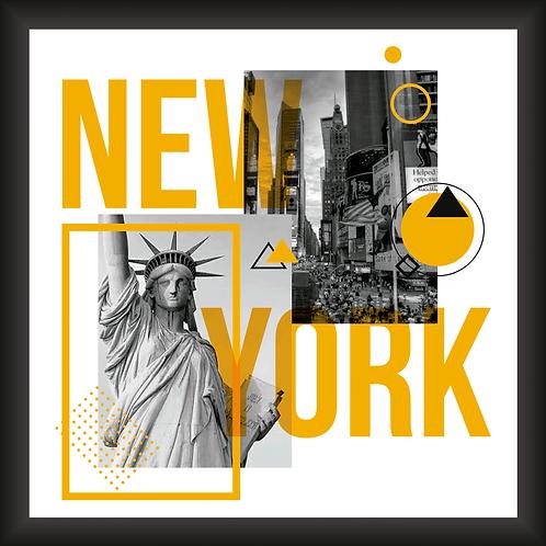 Quadro Decorativo - Visual New York